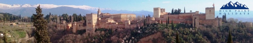 andalucia granada walking holidays spain europe